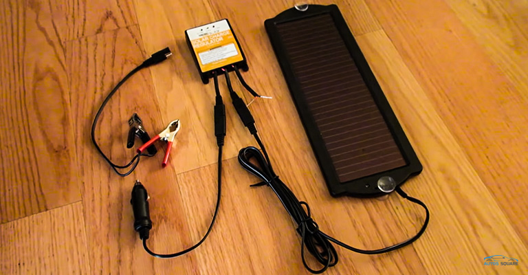 Sunway Solar Car Battery Trickle Charger & Maintainer